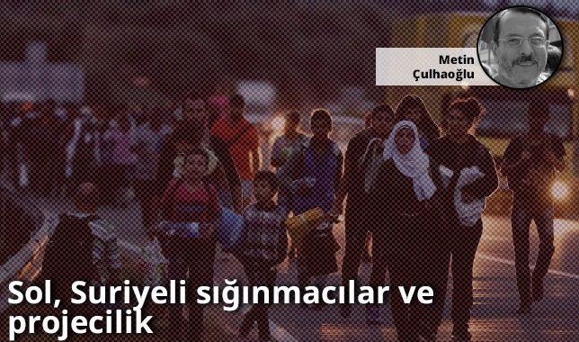 Sol, Suriyeli sığınmacılar ve projecilik